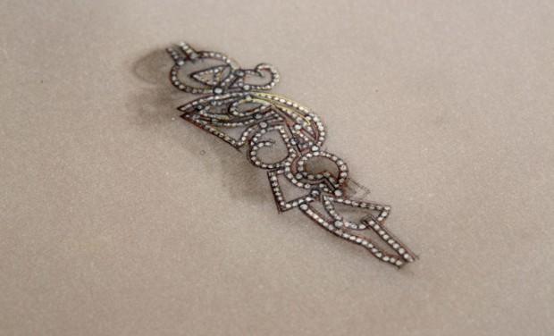 David Mann — Bijoutier à Liège - Dessin pour projet d'un pendentif création unique sur mesure or et diamants