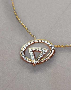 David Mann — Bijoutier à Liège - Pendentif - brillants aux formes abouties projet de création de collier