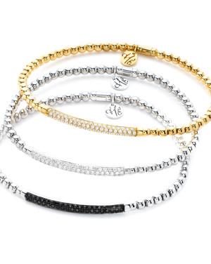 David Mann — Bijoutier à Liège - Hulchi Belluni Bracelets or jaune et or blanc avec diamants