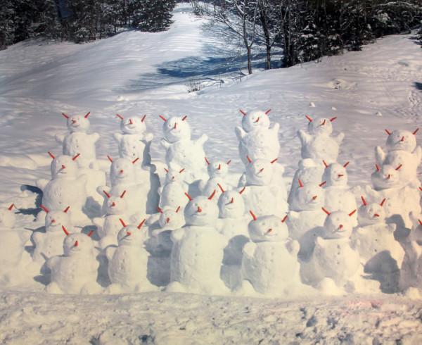 David Mann — Bijoutier à Liège - Olaf Breuning photographie Snowmen