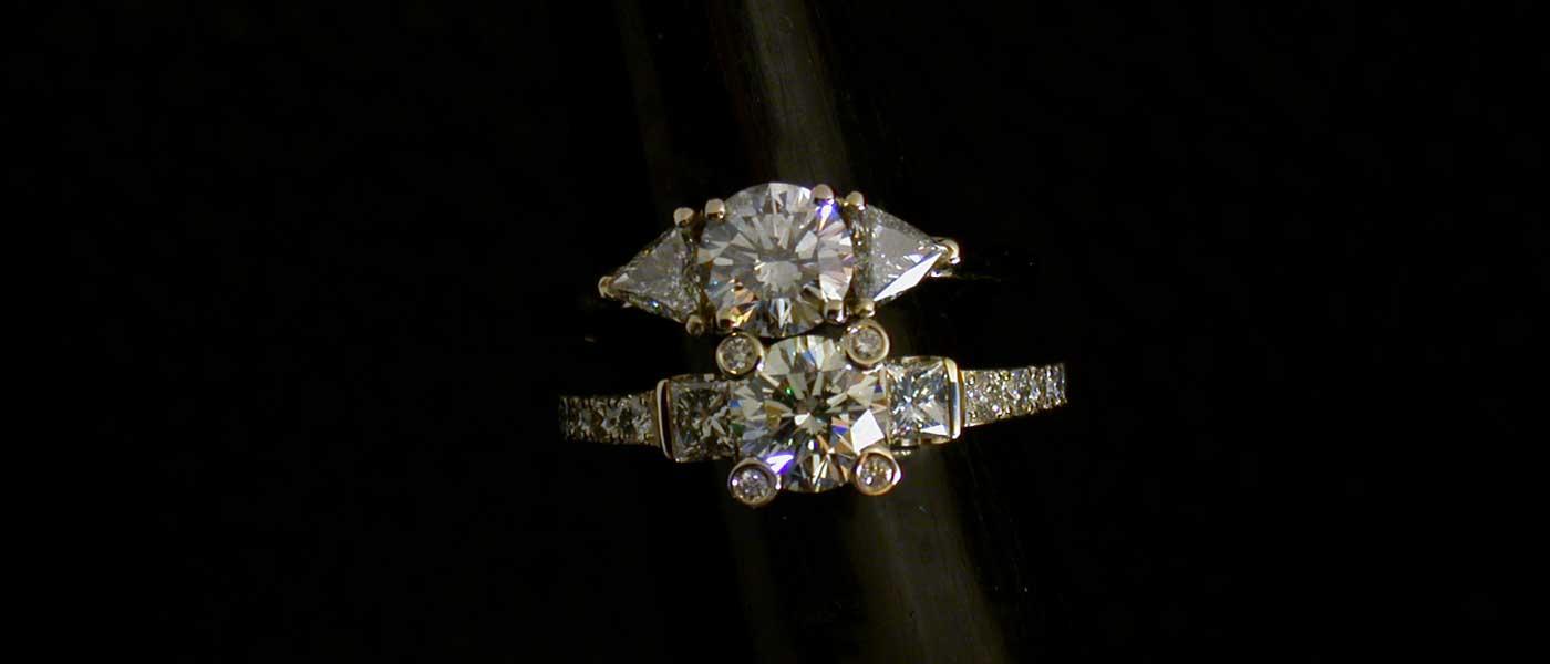 David Mann — Bijoutier à Liège - Réalisation de bague ornée de diamants