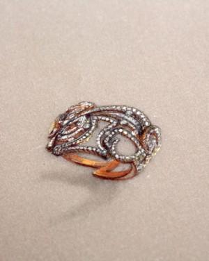 David Mann — Bijoutier à Liège - Dessin pour projet d'une bague création unique sur mesure or et diamants