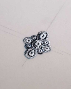 David Mann — Bijoutier à Liège - Bague fleurs pétales brillants diamants pour projet de réalisation de bijoux