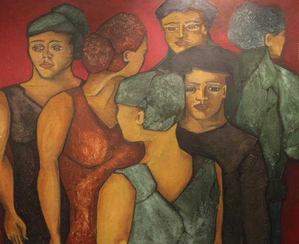 David Mann — Bijoutier à Liège - Charlotte Beaudry tableau