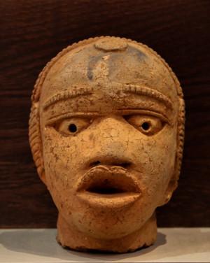David Mann — Bijoutier à Liège - Art africain tête Nok Nigéria