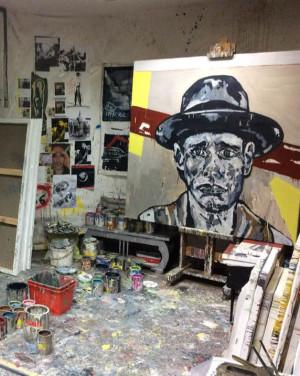David Mann — Bijoutier à Liège - David Pirotte peinture atelier