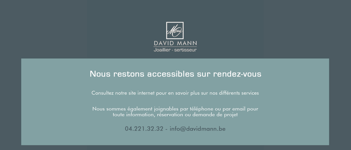 David Mann — Bijoutier à Liège -